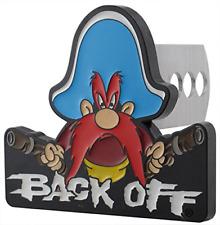 Plasticolor 002231R01 Yosemite Sam Back Off Hitch Cover