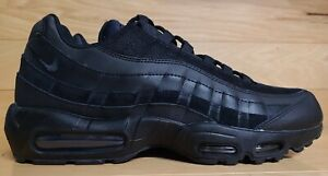 Nike Air Max 95 Size 11.5 Triple Black Mens Running Shoe Sneaker CI3705-001