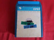THE BEATLES at HOLLYWOOD BOWL Cassetta STEREO 8 Usata Molto Rara 8-Track tape
