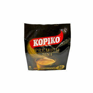Kopiko Instant Premium 3in1 Coffee with Non Dairy Creamer and Sugar 30 x 30g