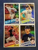 2020 Topps Series 1 1985 Chrome Silver Packs Inserts You Pick Trout Acuna Judge