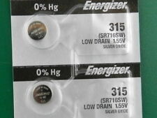 Battery, 2 Pc Energizer 315 Sr716Sw Watch
