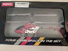 Syma Gyroscopes System S 107G Metal Series Red Infrared RC Mini Helicopter