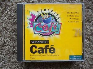 Symantec Cafe Professional Java Development Tools Mac (CD-Rom - 1996)