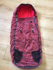 Quinny Footmuff Flame Red Colour Brand New