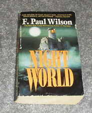 F Paul Wilson - Night World - 1993 1st ptg HTF Nightworld