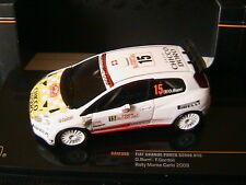 FIAT ABARTH GRANDE PUNTO S2000 #15 RMC 2009 BURRI GORDON IXO RAM380 1/43 RALLY