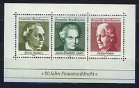 ALEMANIA/RFA WEST GERMANY 1969 MNH SC.1007 Universal Women´s Suffrage 50th