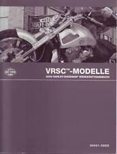 HARLEY-DAVIDSON Werkstatthandbuch 2009 VRSC Night Rod Special DEUTSCH 99501-09DE