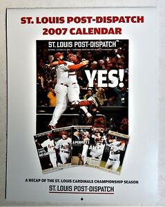 St Louis Cardinals 2006 World Series Champs Photos 2007 calendar Pujols Rolen