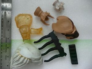 1/6 For Parts ONLY Aliens Predators Heads masks Vinyl Model Figure garage Kit