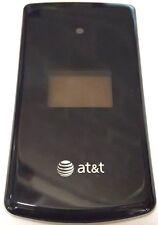 LG CU515 Cellphone Rear Housing Front Standard Case Purple Plastic Cover OEM