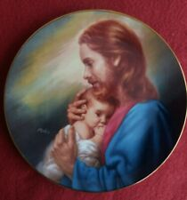 MaGo Love's Blessing Plate - Bring Unto Me The Children. Limited edition