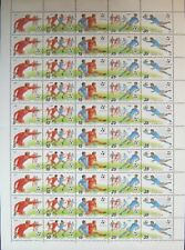 SOWJETUNION RUSSIA 1990 ZD 6088-92 5899a Soccer WC Fußball WM Italy Sports MNH