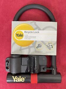 Yale Bicycle Lock - High Security U Shaped Bike Lock