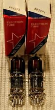 SOVTEK Factory Platinum Matched PAIR TWO 6H30 6H30Pi Fully Tested Pre-Amp Tubes