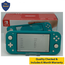 Nintendo Switch Lite Handheld Console in Turquoise Boxed