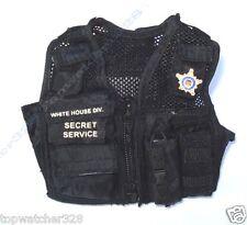 1/6 Action Figure Accessories-HOT TOYS US SECRET SERVICE ERT MALE-Tactical Vest