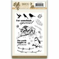 Jeanine's Art Birds and Flowers Clear Stamp Set 1 JACS10021