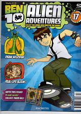 BEN 10 ALIEN ADVENTURES MAGAZINE--2009  ISSUE 17# HATCHETTE