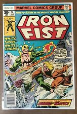 Iron Fist #14 1977 First Appearance of Sabretooth! VF! Key Bronze Comic!