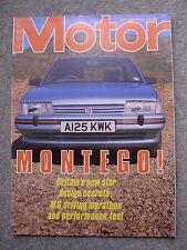 Motor (28 April 1984) Montego, Alfa 8C-2900B, Alfetta, Nissan 300ZX, Steve Soper