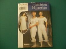 SIMPLICITY 9769 WOMENS UNDERGARMENTS SIZE HH 6-12 CIVIL WAR HISTORICAL