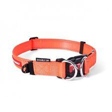 EzyDog Double up Collar Genuine and Quality Dog Collars Medium Orange
