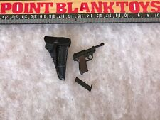 DID Pistol & Holster WWII GERMAN WH RADIO OPERATOR GERD 1/6 ACTION FIGURE TOYS
