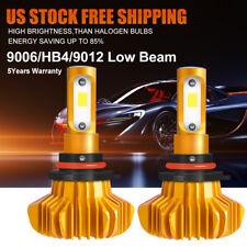 2x 1300W Cree 9006 HB4 LED Light Low Beam For Toyota Corolla Matrix Chrysler 200