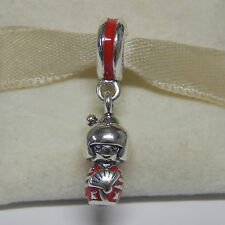 New Authentic Pandora Charm Sterling Silver Japanese Doll 791368EN09 Box Include