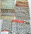 (10) BRUNSCHWIG & FILS  Fabric Remnants - PANTHERE VELVET - 8 1/2'sq -   $626 yd