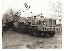 1964 HENDRICKSON Tandem-Tandem PRIME MOVER, Higgins, Buffalo, NY 8x10 B&W Photo