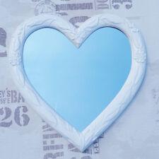 Wall Mirror Heart Mirror Heart Shape Baroque White Love Gift spiegelherz 88