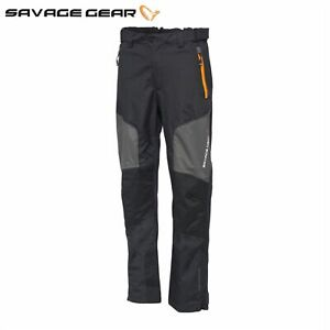 Savage Gear WP Performance Trousers M - XXL Breathable 100% Waterproof