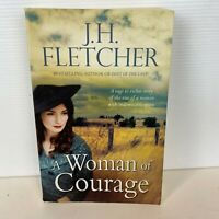A Woman of Courage by JH Fletcher Paperback Book