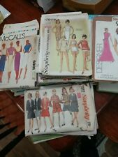 New ListingVintage Sewing Patterns Lot