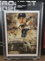 Topps PROJECT 2020 Card #82 1993 Derek Jeter RC Andrew Thiele PR:20,974 IN HAND