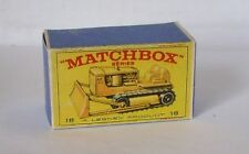 Repro Box Matchbox 1:75 Nr.18 Caterpillar Bulldozer