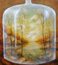 Original Painting oil on linen canvas  Fine Art Landscape Forest by Pronkin