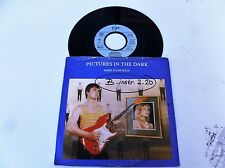 """MIKE OLDFIELD - Pictures In The Dark - Rare 1985 German 2-track 7"""" vinyl single"""