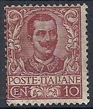 1901 REGNO FLOREALE 10 CENT MH * DIENA - RR10624
