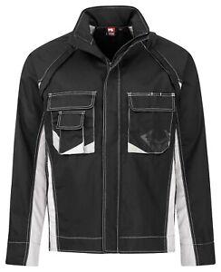 Bullstar Arbeitsjacke Arbeitsbekleidung Berufsbekleidung worxtar schwarz Neu1042
