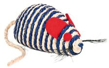 """Sisal Mouse Scratching Chase Toy with Bell & Catnip 10cm (4"""")"""