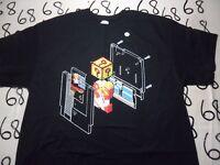 XL- Mario Brothers Cassette Nintendo Parody Shirt Punch Gildan Brand T- Shirt