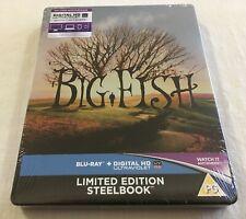 Big Fish (2003) - Limited Edition Steelbook Blu-Ray Region Free | New