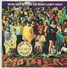 We're Only in It for the Money/Lumpy Gravy by Frank Zappa (CD, 1986, Ryko) VGC