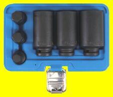 BGS 5334 IMPACT Nüsse 12 Kant für Antriebswellen 30 32 36mm + 3 Innensechskant