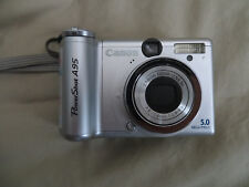 Canon PowerShot A95 5.0MP Digital Camera for PARTS OR REPAIR, Non Working