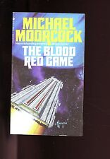 THE BLOOD RED GAME, Michael Moorcock,  1978  US, SB  VG